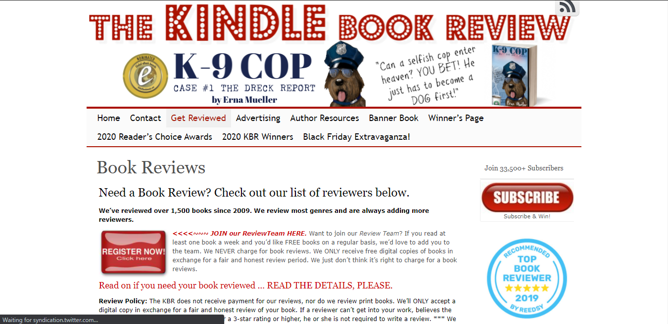 Kindle review sites are an excellent way of receiving really useful and detailed feedback.