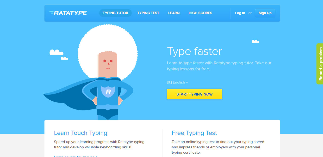 Software like Ratatype can help you dramatically improve your typing speed.